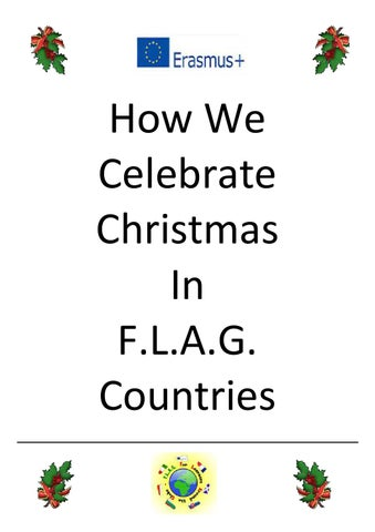 how we celebrate christmas in flag countries