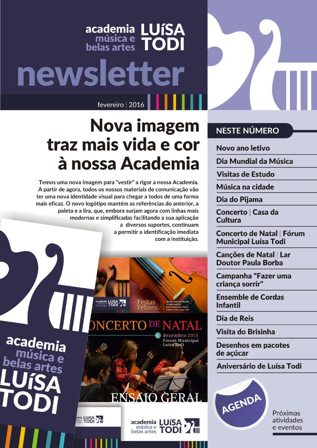 Newsletter 2016 02 By Academia Luisa Todi Issuu