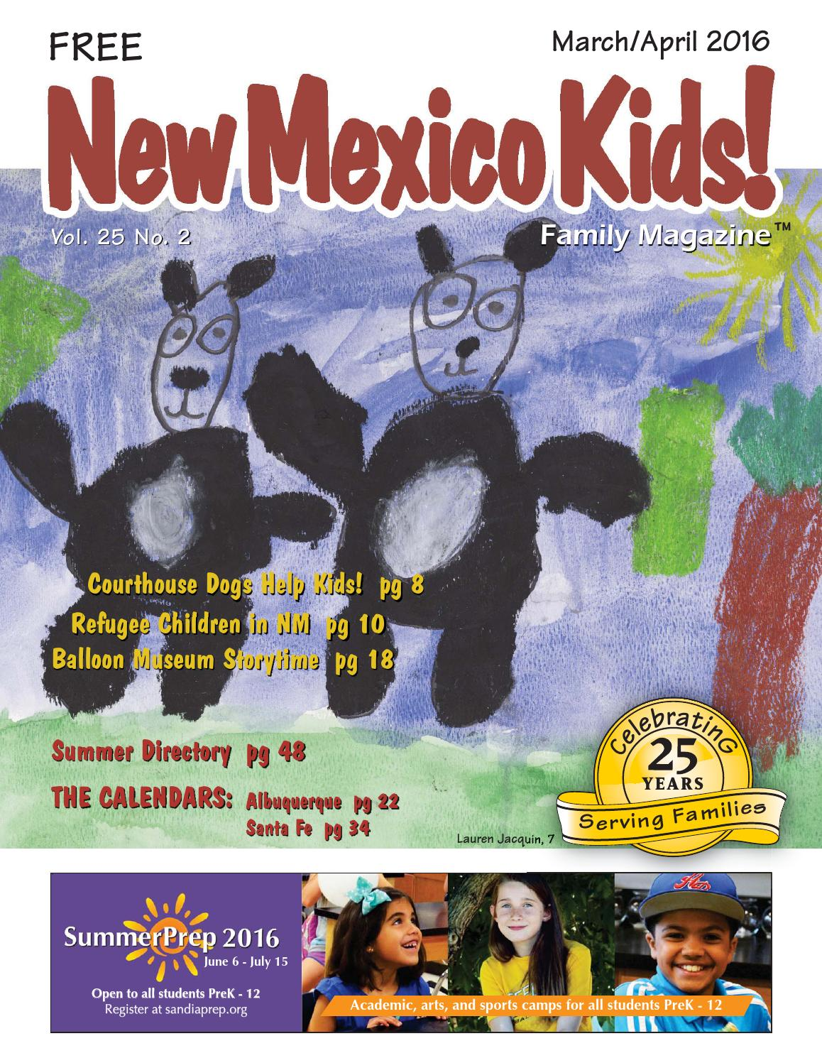 New Mexico Kids! March/April 2016 by New Mexico Kids! - issuu