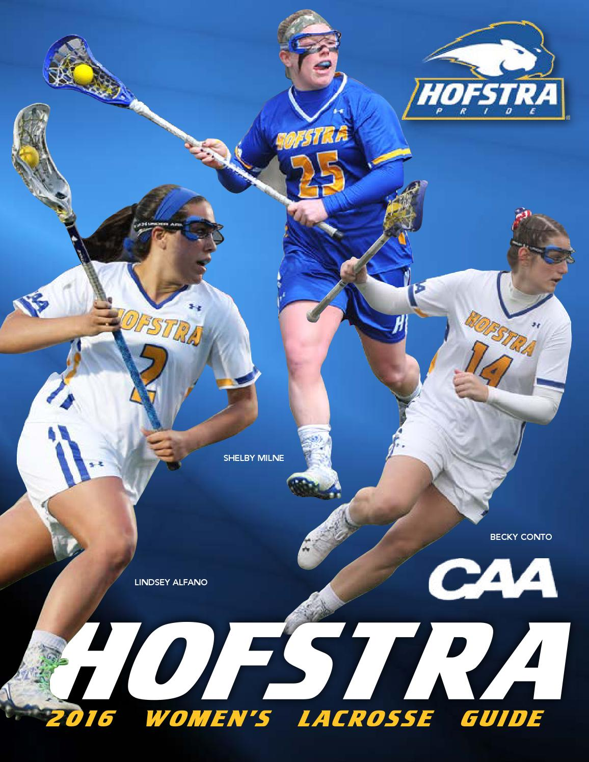 2016 Hofstra Womenu0027s Lacrosse Guide By Hofstra University   Issuu