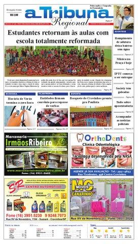f34c4d355b jornal A Tribuna Regional de Cravinhos by Leandro Cavalcanti - issuu