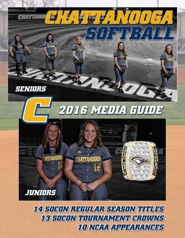 2016 Chattanooga Softball Media Guide by Chattanooga