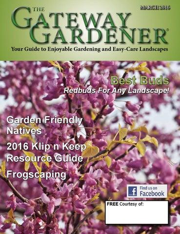 The Gateway Gardener March 2016 By