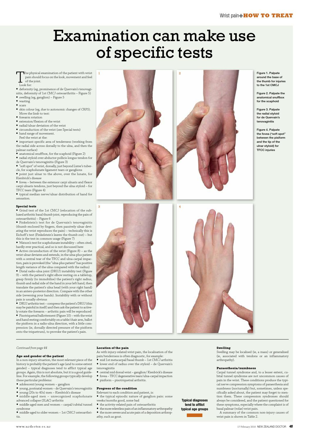 How to treat wrist pain by The Health Media - issuu