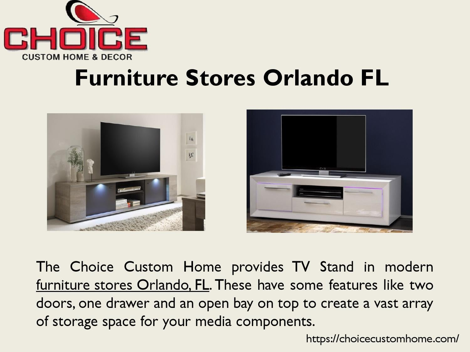 Furniture Stores Orlando Fl By Choice Custom Home   Issuu