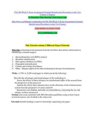 due process and crime control essay