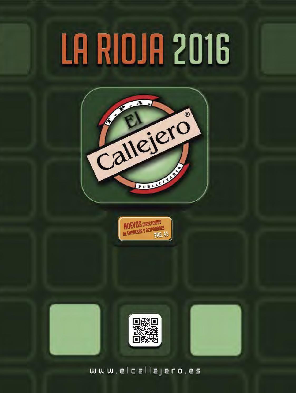 Callejero la rioja 2016 by el callejero la rioja issuu - Casa paz logrono ...