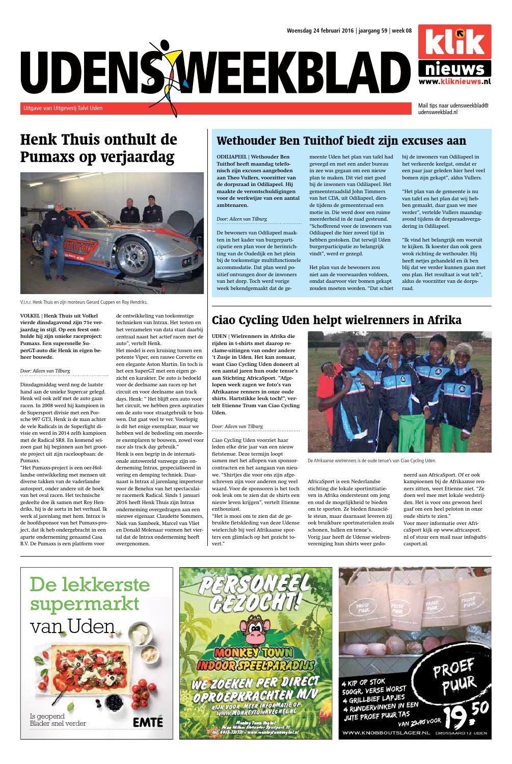 Autobedrijf Nathasja udens weekblad week 08 2016uitgeverij talvi - issuu
