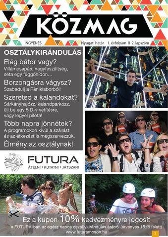 """Cover of """"KÖZMAG Középiskolások Magazinja - Nyugati-határ - 2016-02"""""""