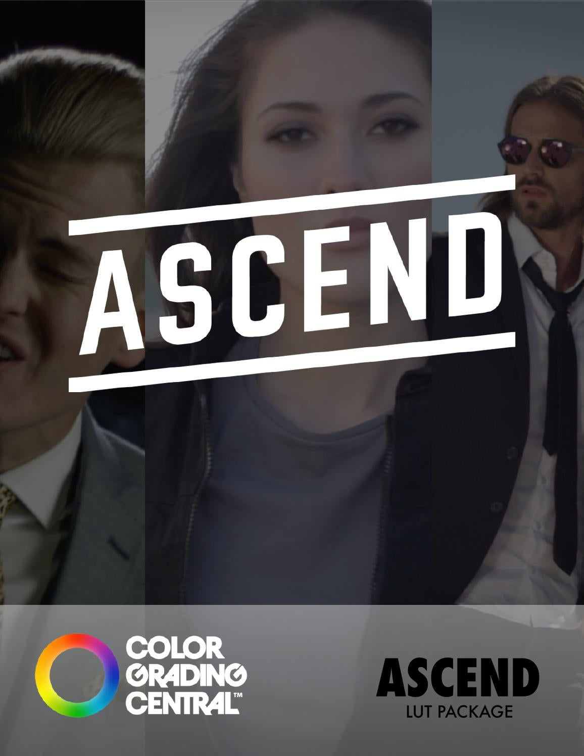 Color Grading Central - Ascend LUTs Package - Free download