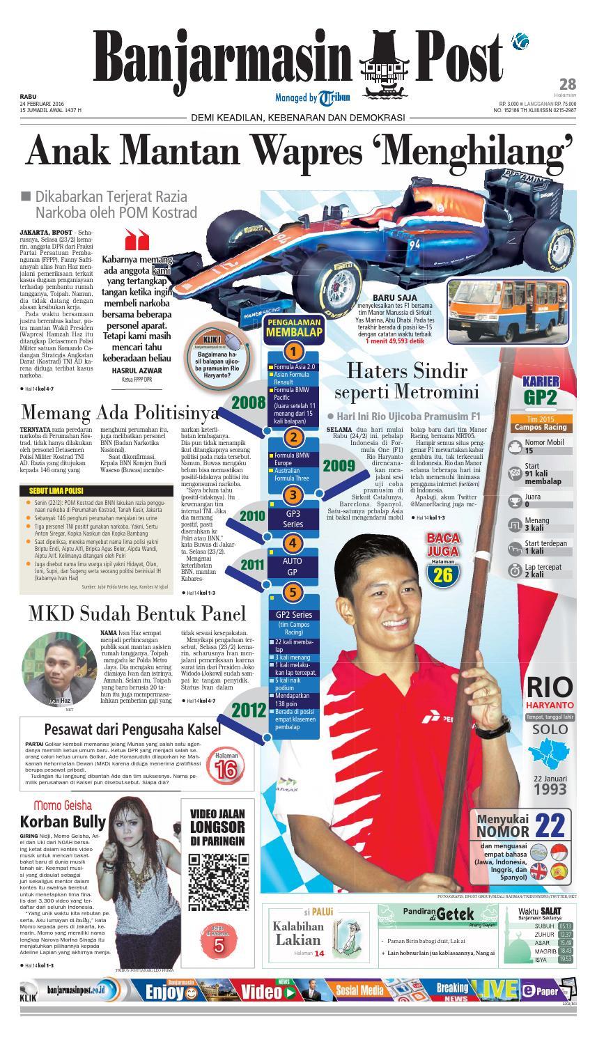 Banjarmasin Post Rabu 24 Februari 2016 By Issuu Produk Ukm Bumn Pasmina Glitter