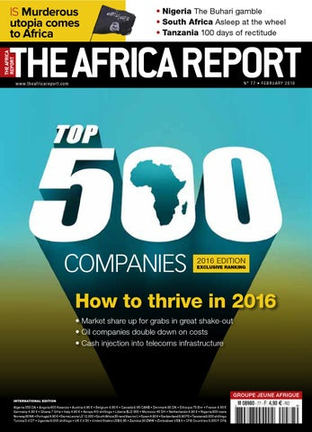 73b77df8e Tar77 by The Africa Report - issuu