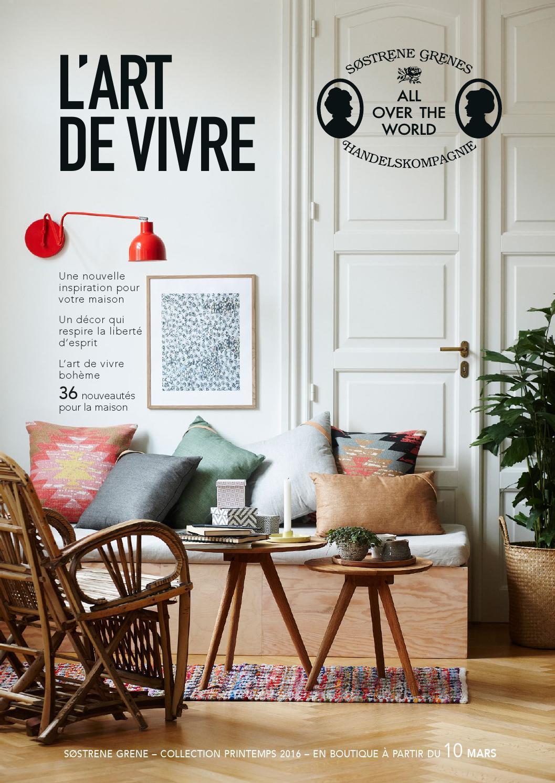 Interior News March 2016 - L art de vivre by Søstrene Grene - issuu 0c687cb84706