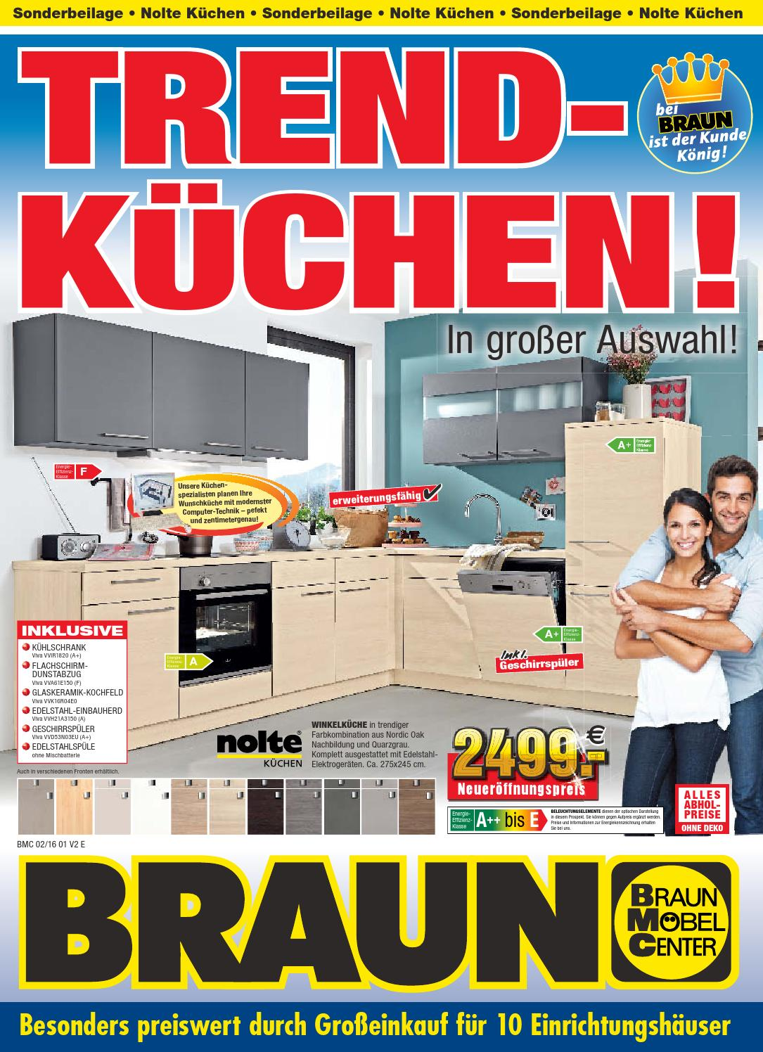 Braun Mobel Center Trend Kuchen By Saarbrucker Verlagsservice Gmbh