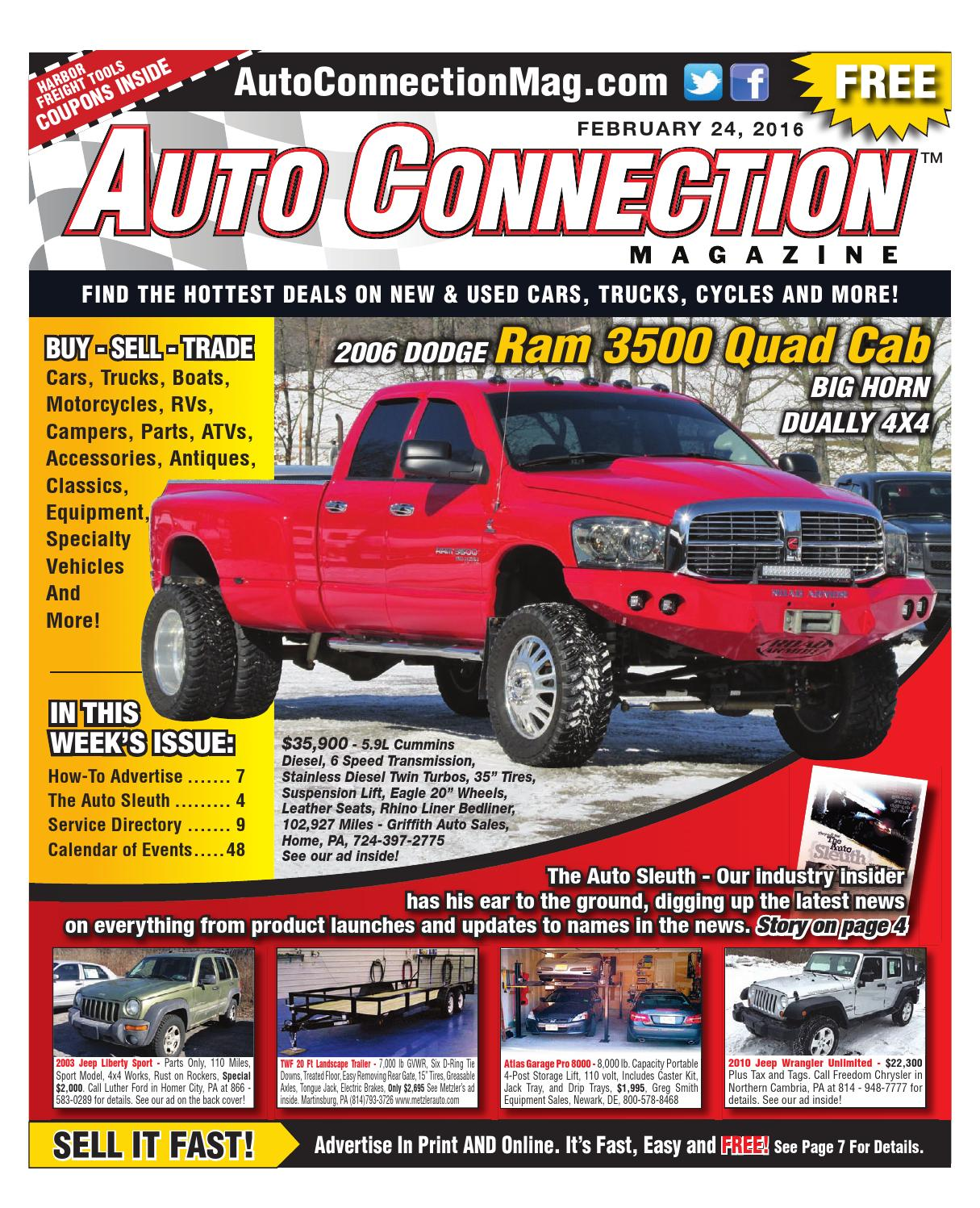 02-24-16 Auto Connection Magazine by Auto Connection Magazine - issuu