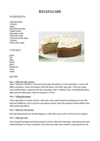 Recipes by 3rd eso bilingual group ies zapaton by patricia page 1 forumfinder Choice Image