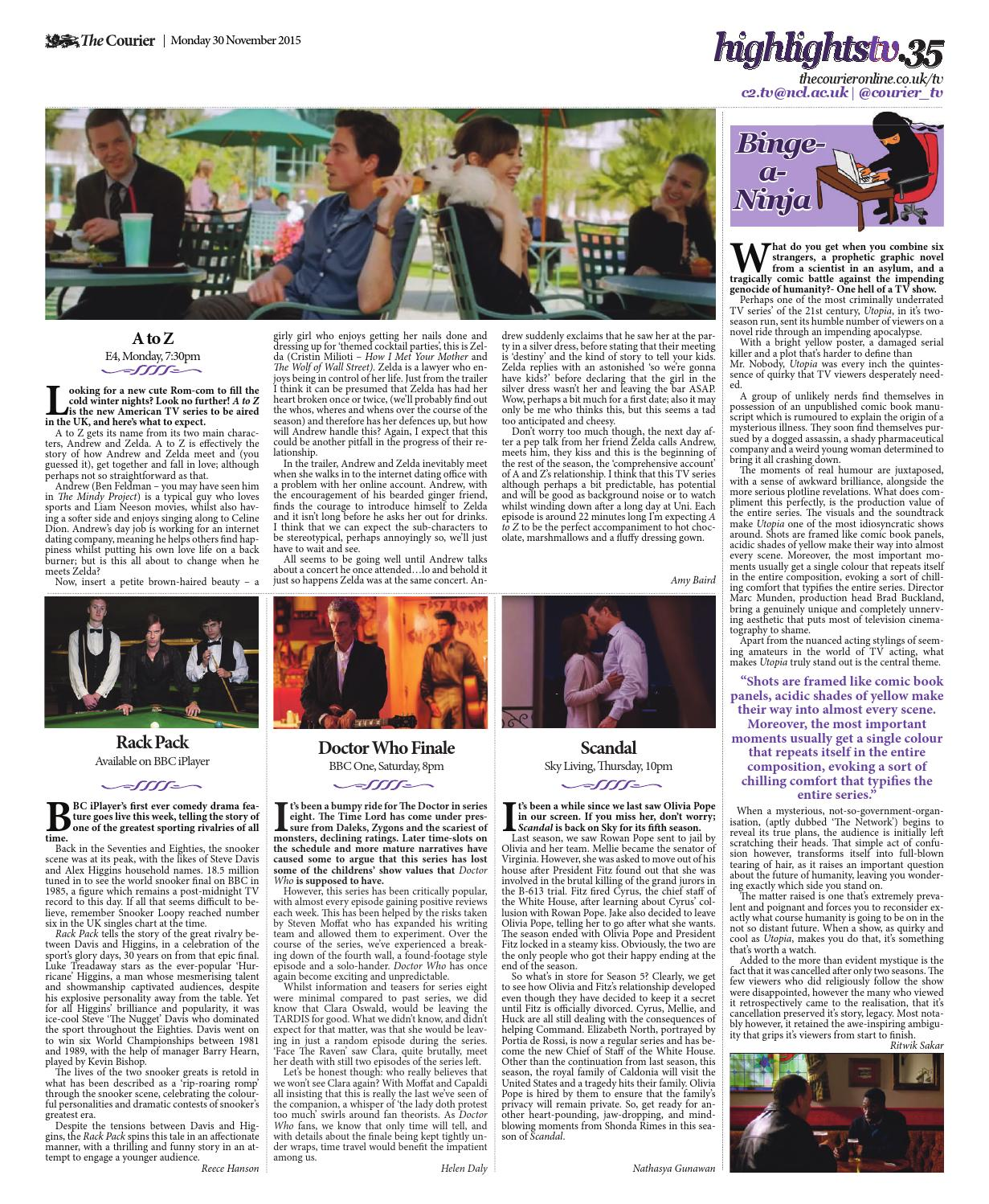 Courier 1322 by The Courier Online - issuu