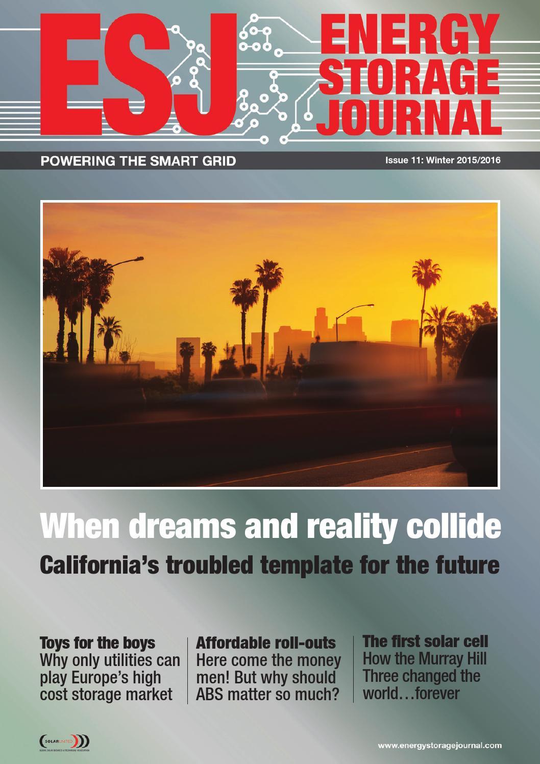 Energy Storage Journal Issue 11 Winter By Hamptonhalls