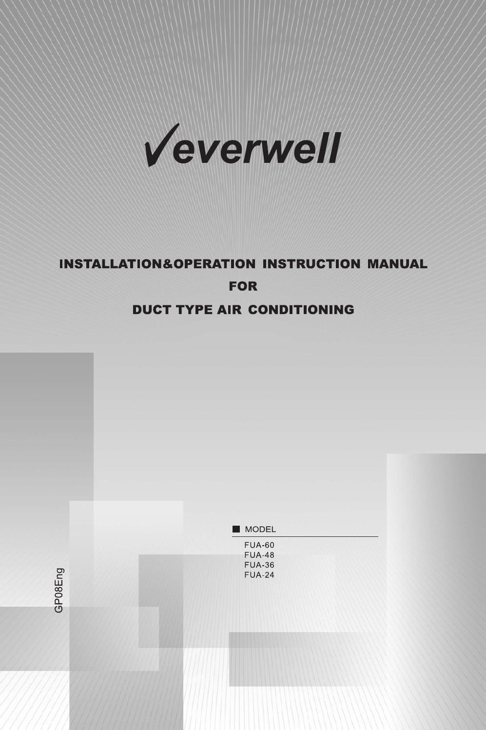 page_1 fua installation and operation manual by everwell issuu  at readyjetset.co