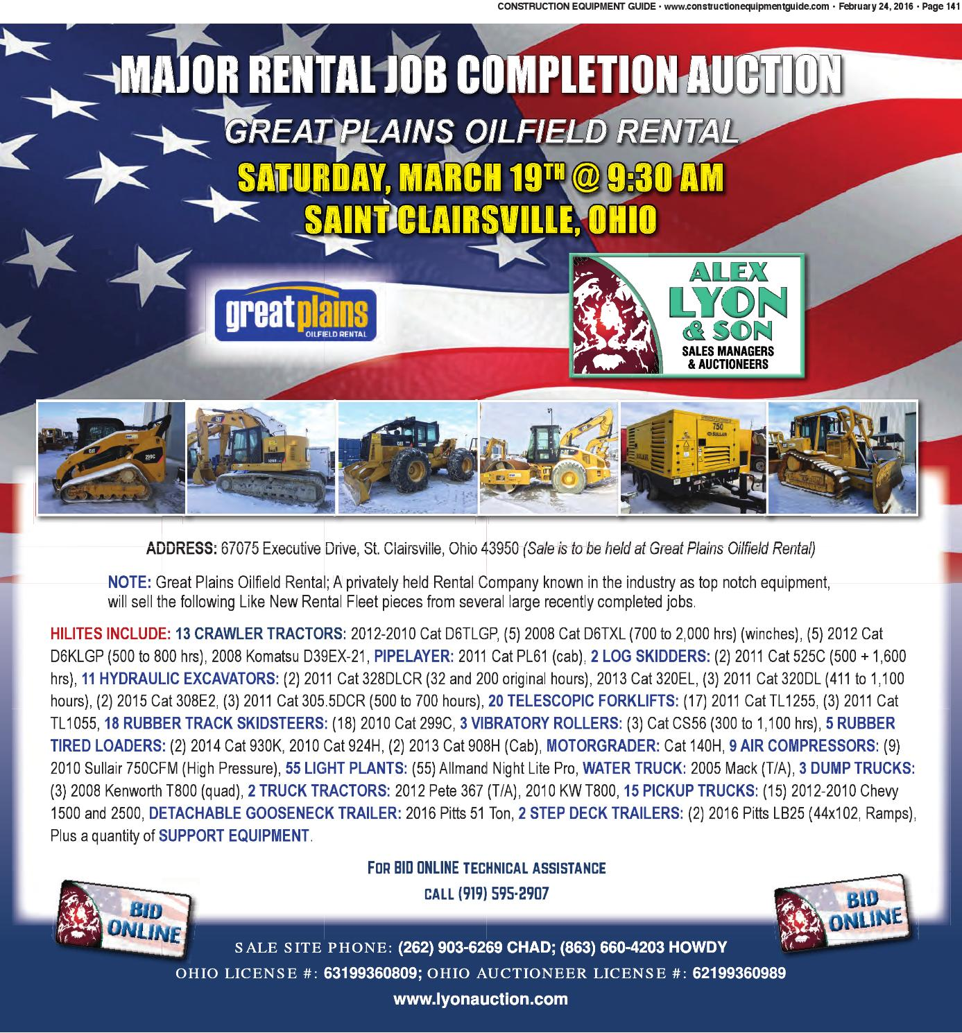 Northeast 04 2016 By Construction Equipment Guide