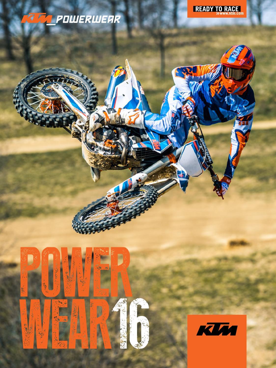 KTM PowerWear Catalog 2016 USA by KTM GROUP issuu