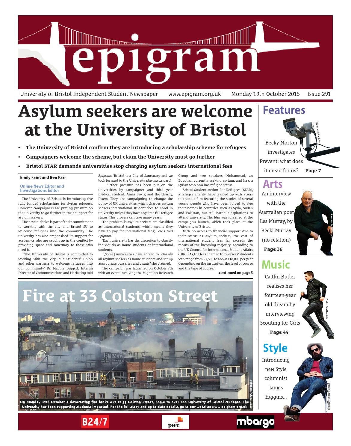 Epigram 291 by Epigram issuu