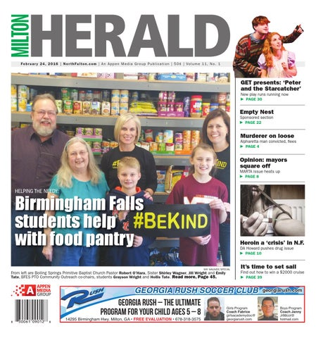 Milton Herald, February 24, 2016 by Appen Media Group - issuu