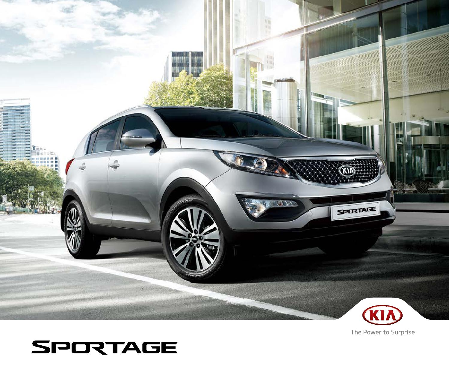 Regular luces kia sportage