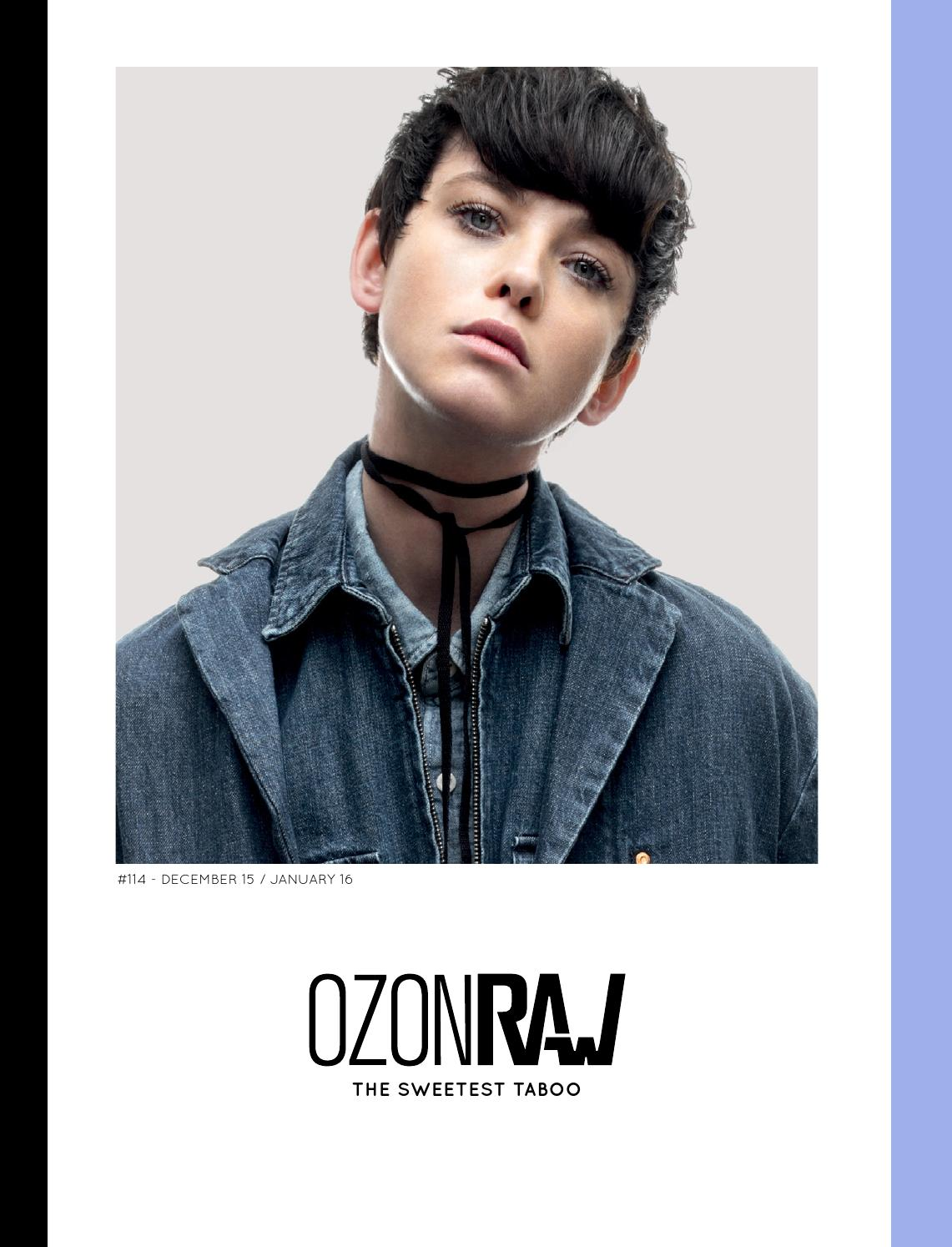 OZONRAW  114 - The Sweetest Taboo by OZON Magazine - issuu c5cfb4619dc