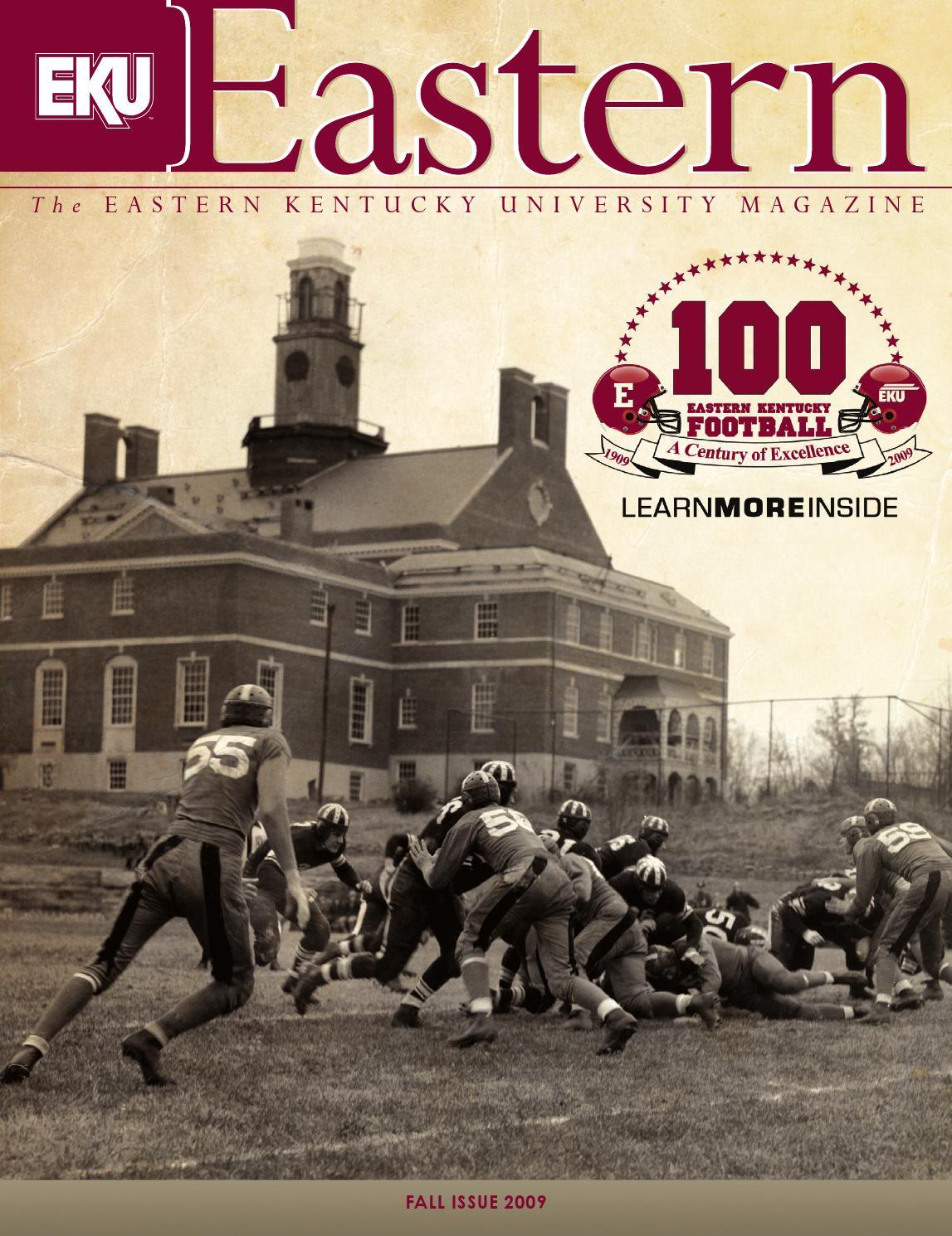 Eastern Kentucky University Magazine, Fall 2009 by Eastern ...