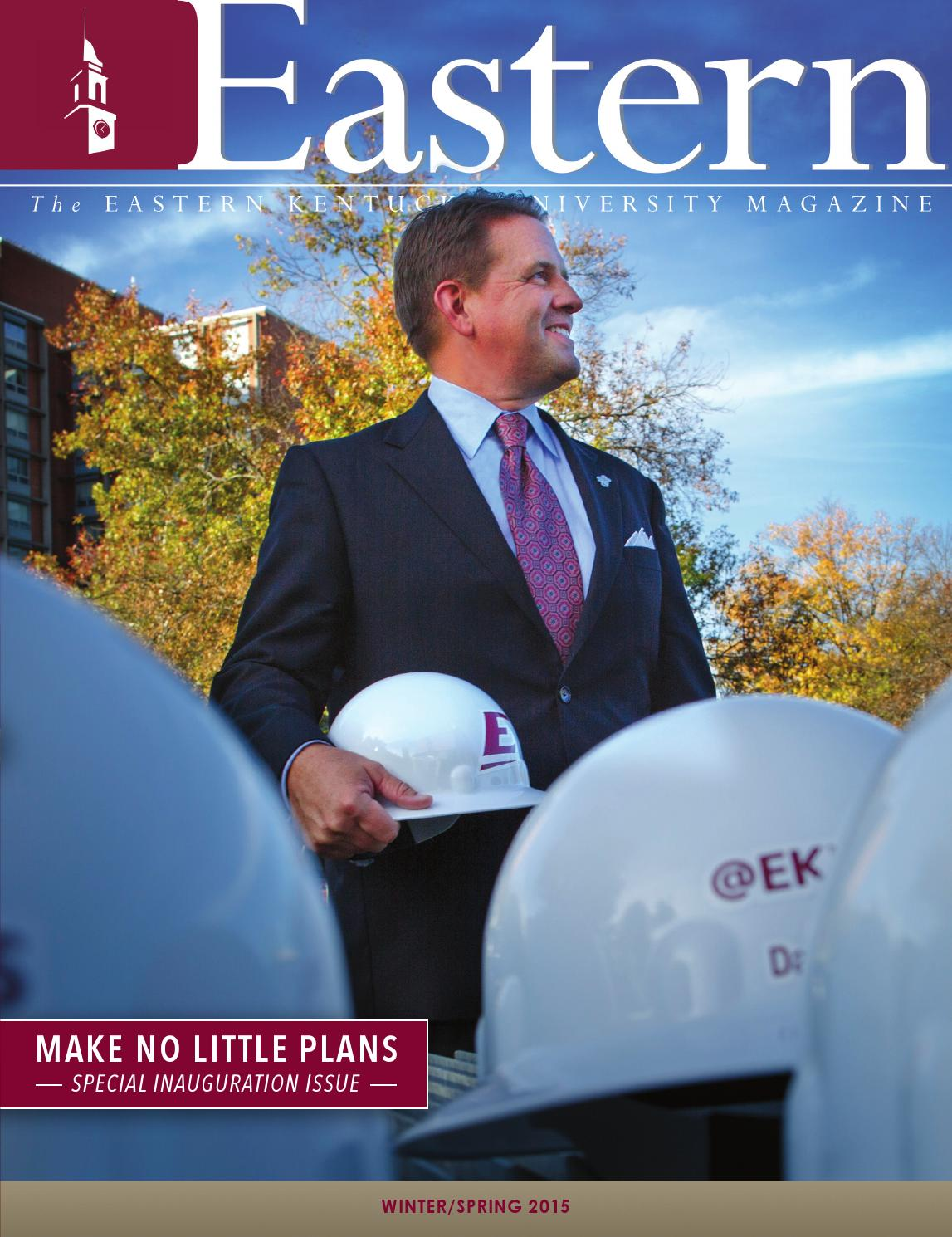 Eastern Kentucky University Magazine, Winter/Spring 2015