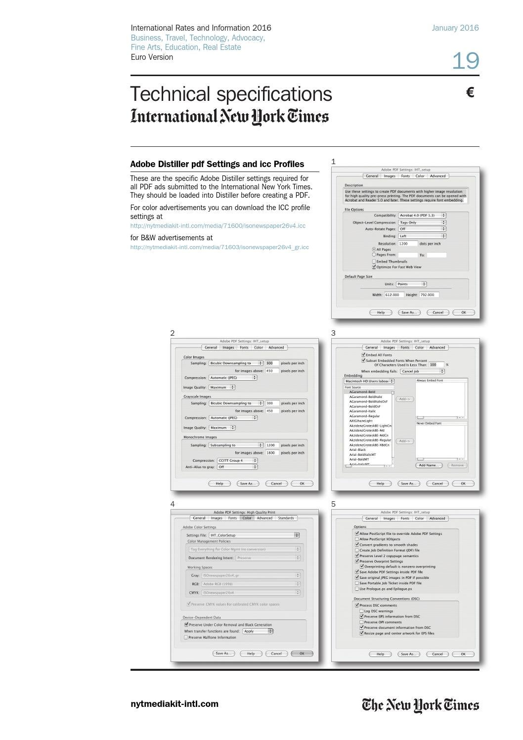 International New York Times Pdf