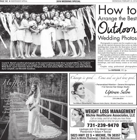 2016 Wedding Tab By Independent Appeal Issuu