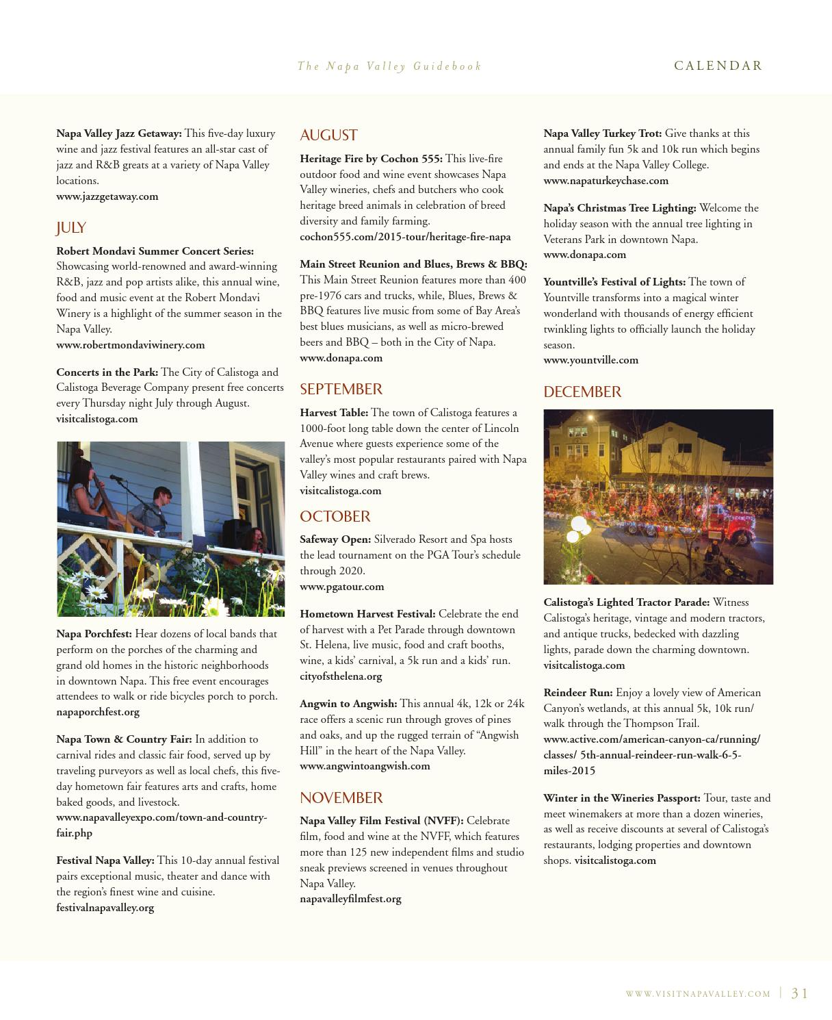 The Official Napa Valley Visitor\'s Guide - 2016 by Visit Napa Valley ...