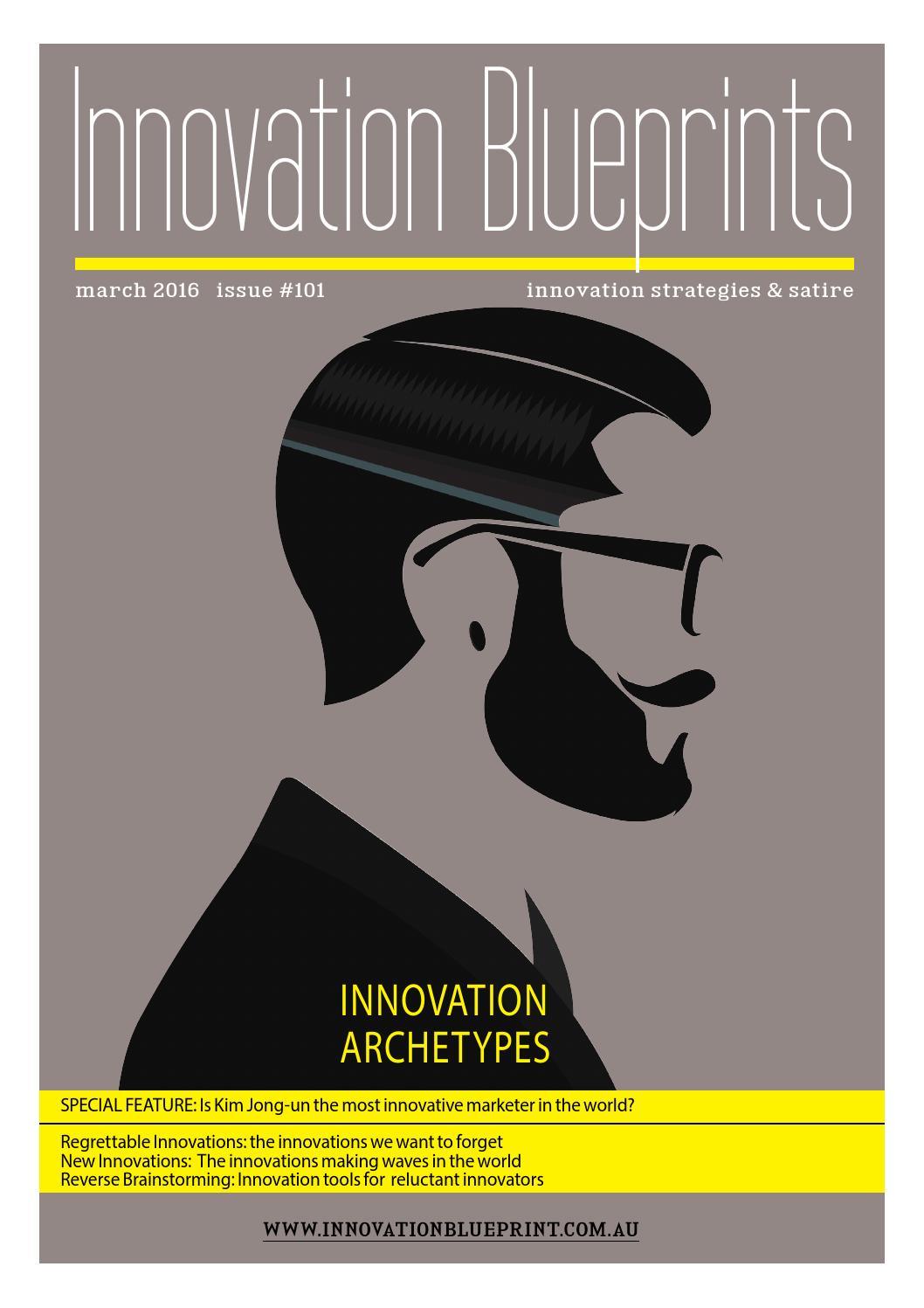 Innovation blueprints 101 by innovation blueprint issuu altavistaventures Gallery