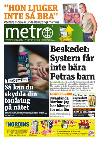 Ericssonanstalld anhallen for mutbrott