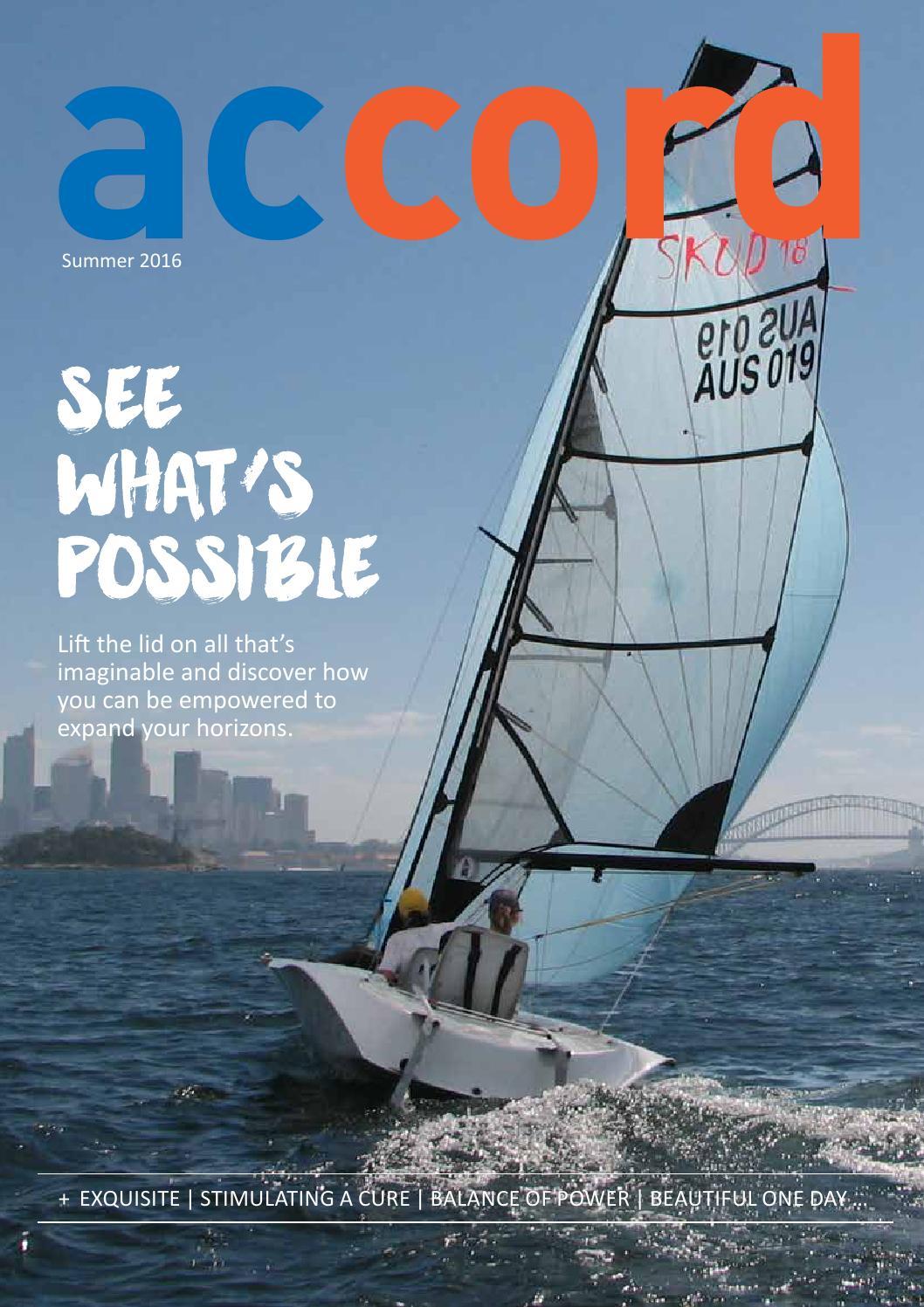 Accord Summer 2016 By Spinal Cord Injuries Australia Issuu Holder Handle Under Raiser Bawah Beat Street