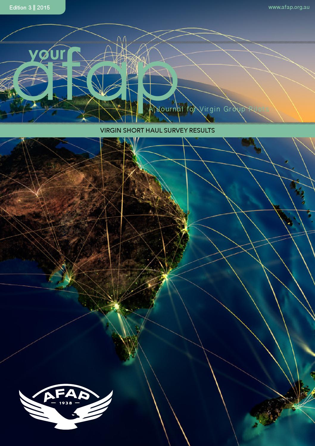 E3 2015 Your AFAP by Australian Federation of Air Pilots - issuu
