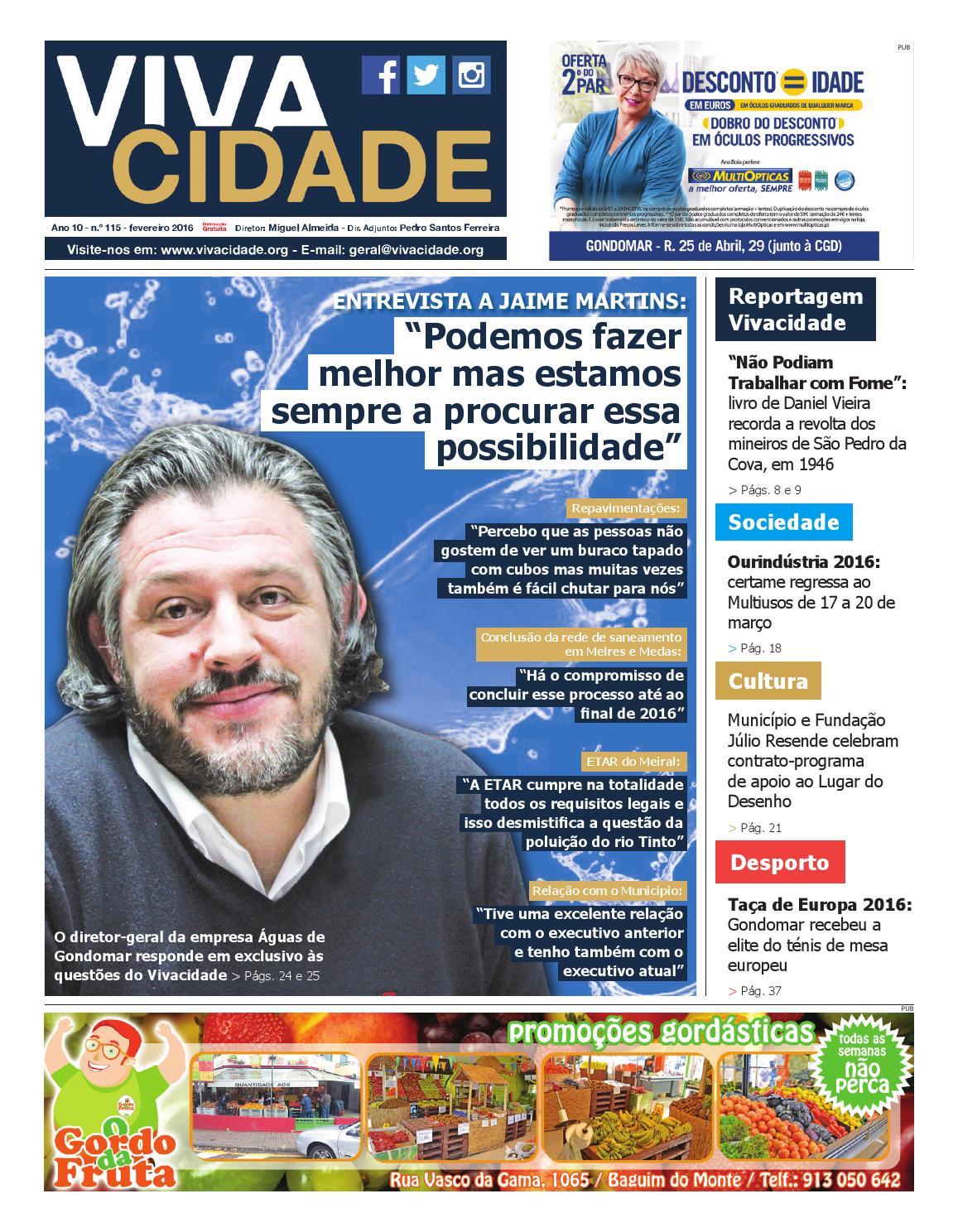 043a6a963e884 Edição de fevereiro de 2016 by Jornal Vivacidade - issuu