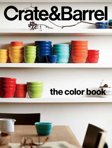 Page 1  sc 1 st  Issuu & Crate and Barrel Spring Summer Core Inspirational Catalog 2016 by ...