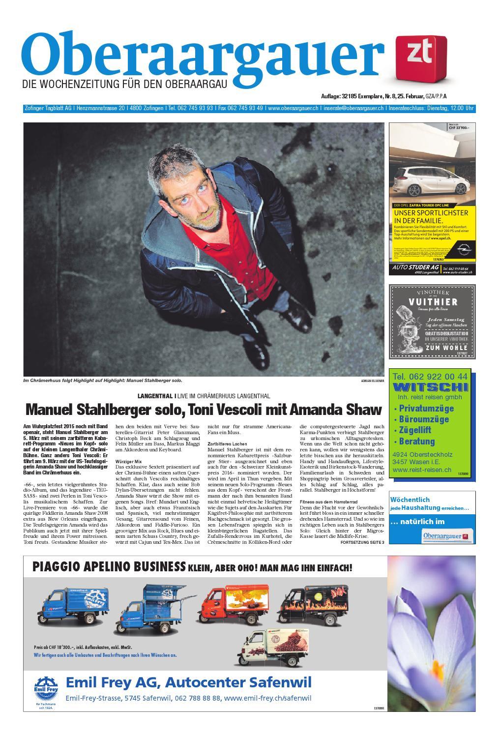 Oberaargauer 0816 by ZT Medien AG issuu