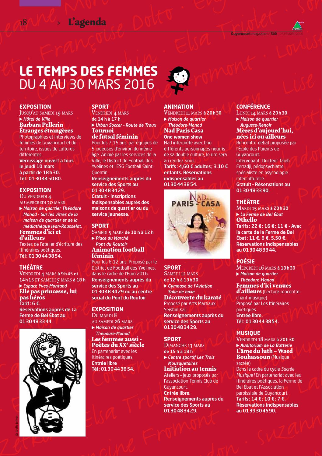 Guyancourt magazine 500 by Ville de Guyancourt - issuu