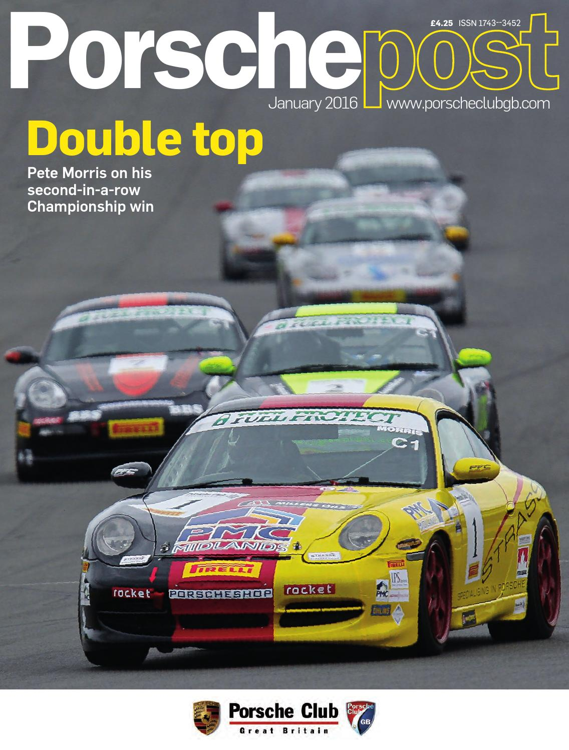 Porsche Post January 2016 By Club Great Britain Issuu Cdr 24 Wiring