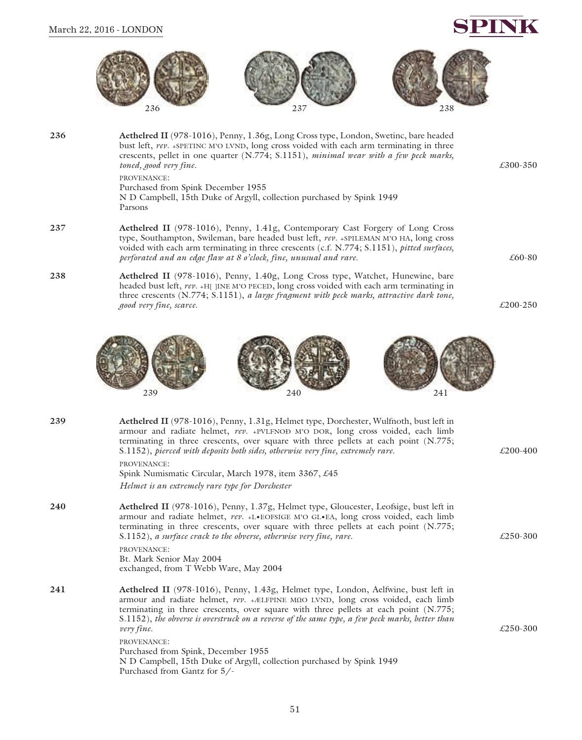 The Academic Collection of Lord Stewartby: English Coins