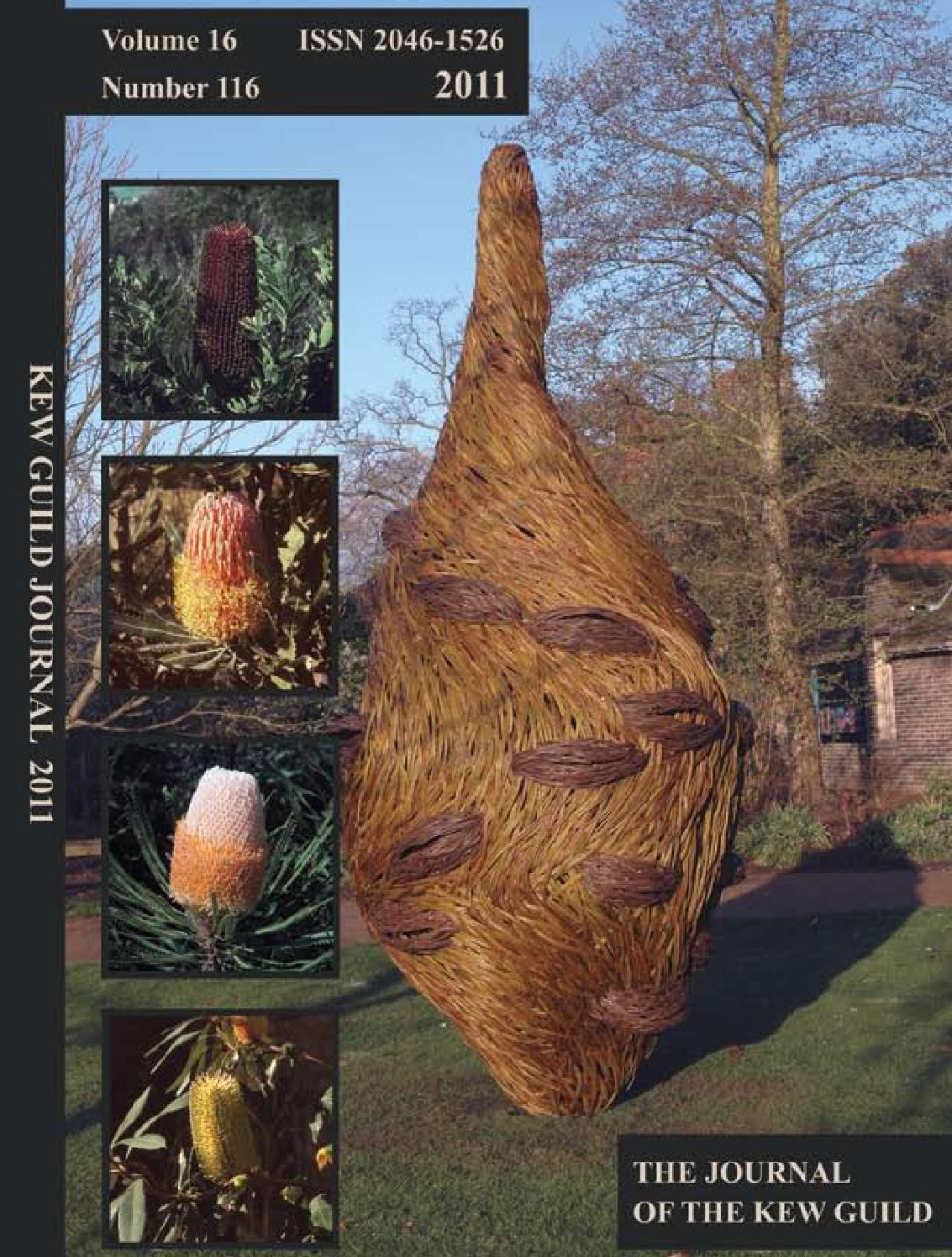 The Journal of the Kew Guild - Events of 2011 by Kew Guild Journal ...