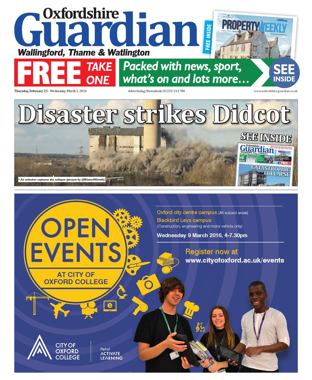 25 February 2016 Oxfordshire Guardian Wallingford By Taylor Alfa Romeo 156 Airbag Wiring Diagram Newspapers Issuu