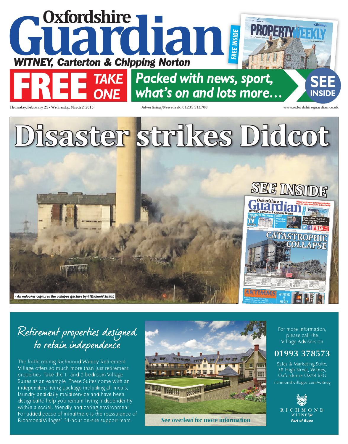 c188942055947 25 february 2016 oxfordshire guardian witney by Taylor Newspapers - issuu
