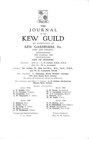 V6s48p1 All By Kew Guild Journal Issuu