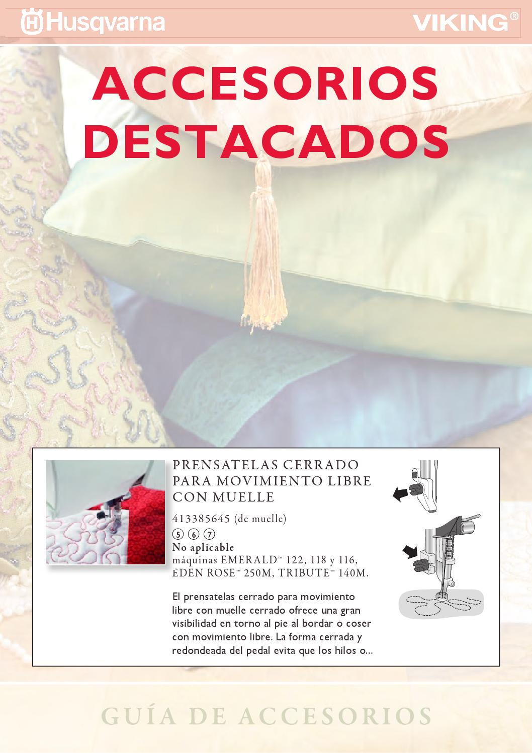 Accesorios husqvarna viking es by Seoane Textil - issuu
