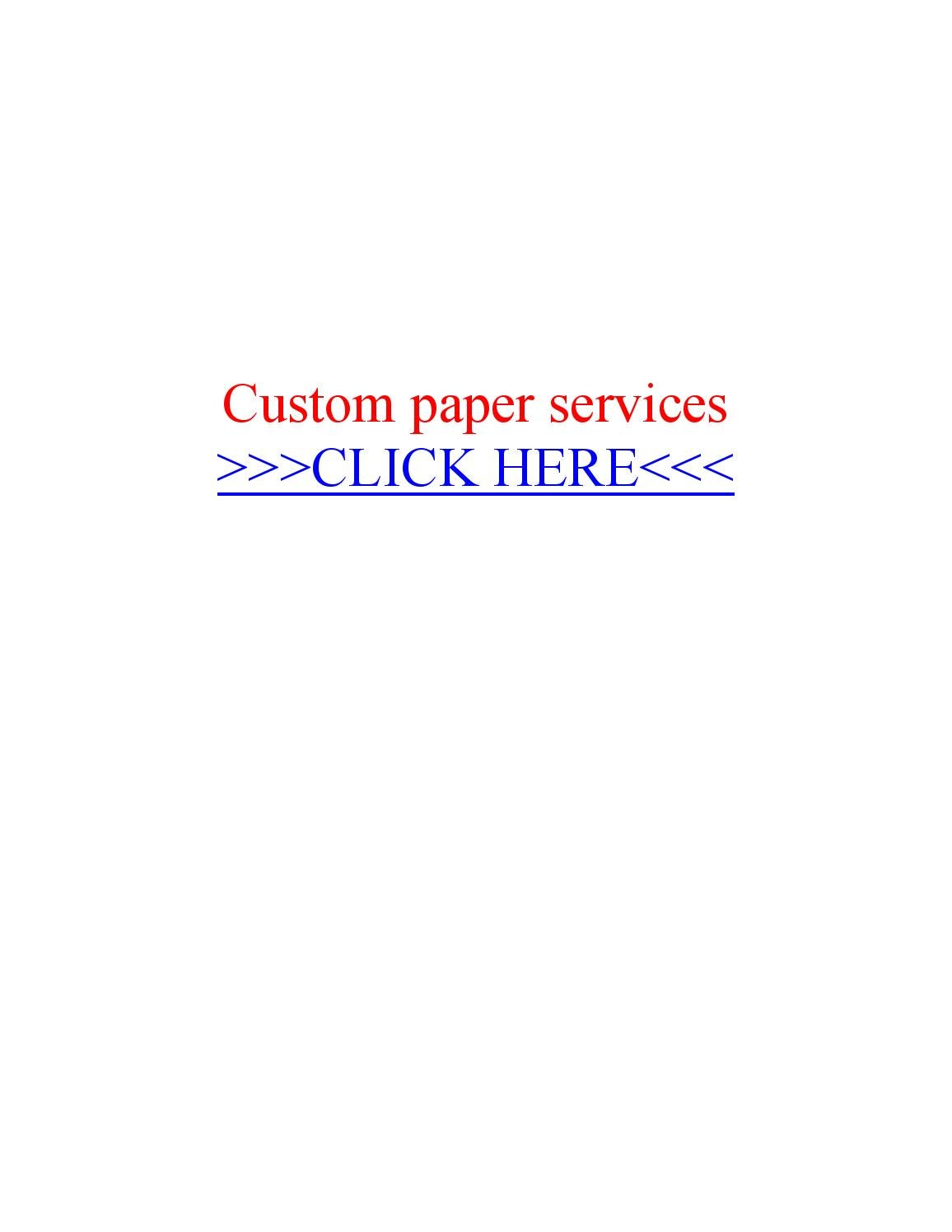 Custom paper services knoxville tn